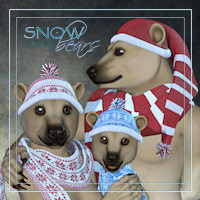 Snow Bears Bundle M4V4K4